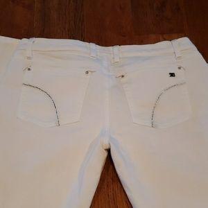 Joe's White Bootcut Jeans